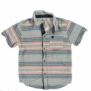 Calvin Klein Jeans Boys Short Sleeve Button Up 7